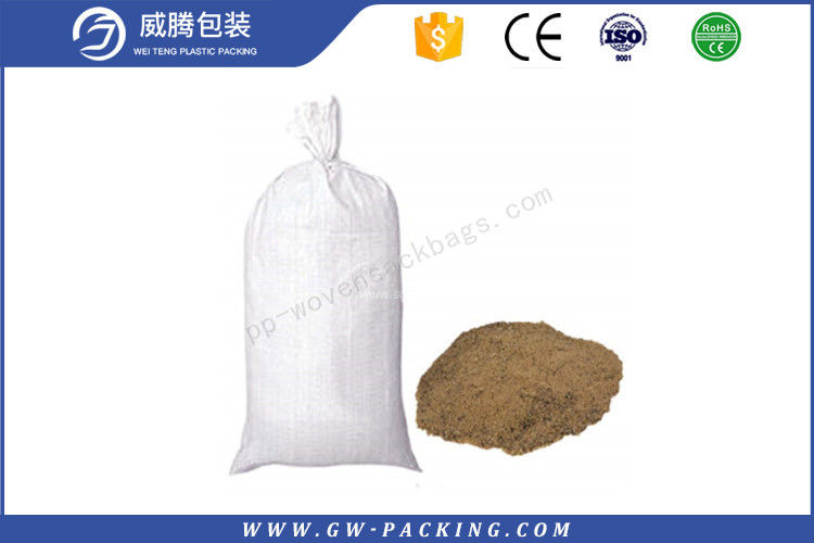 Industrial Laminated Packaging Bags Woven Sacks , Uv Resistant Sandbags For Cement Packing